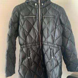 Michael Kors Hooded Packable Down Jacket